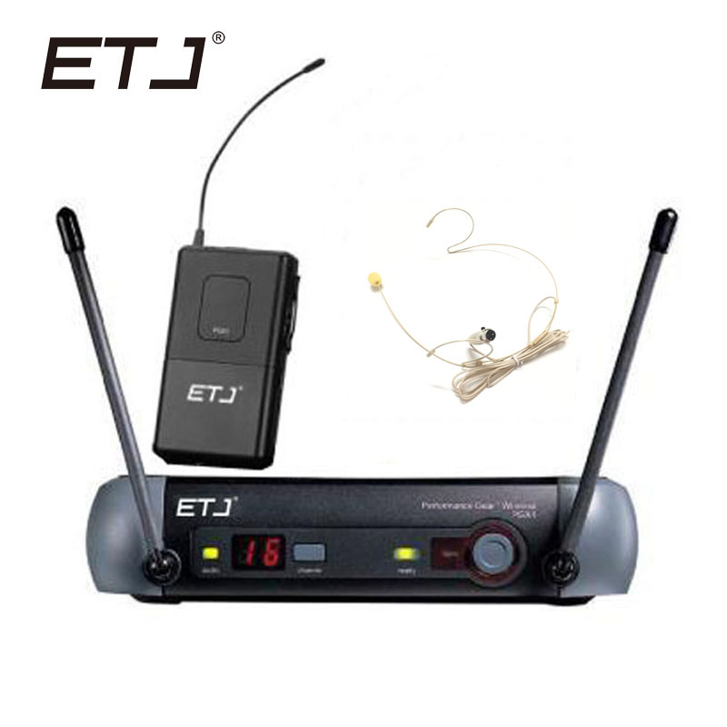 ETJ Brand UHF Professional Wireless Microphone System PGX For Stage Microphone PGX14