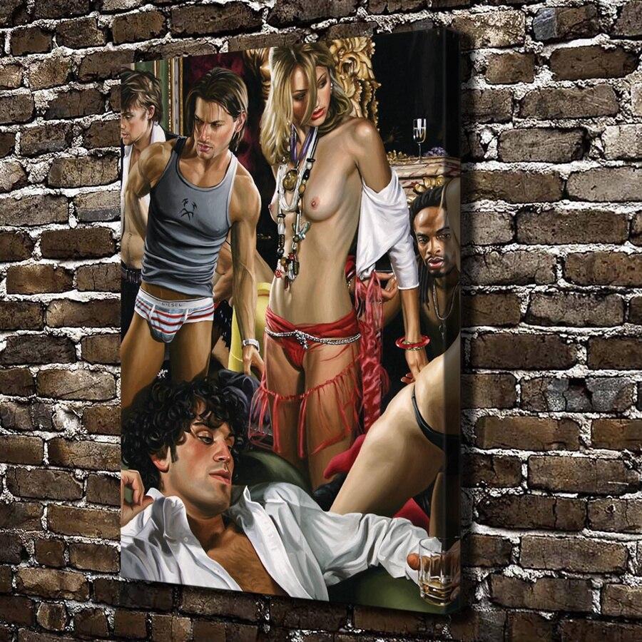 Sexe de la chambre de vapeur gay