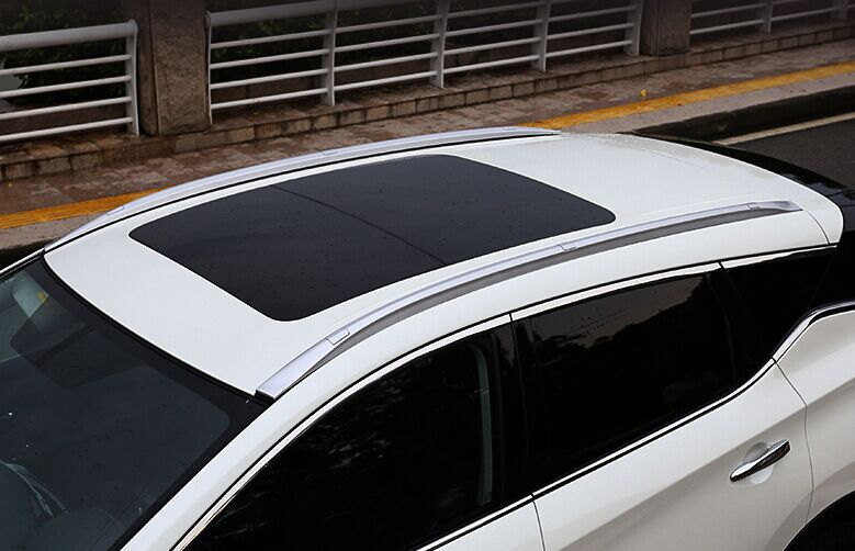 Silver Decorative Roof Rack Side Rail Luggage Babbage Bar For Nissan Murano  2015 In Cargo Management From Automobiles U0026 Motorcycles On Aliexpress.com  ...