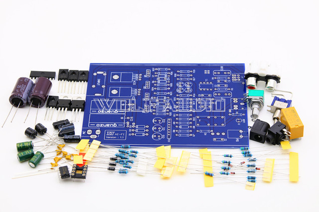 2017 New design Original  DIY HI FI Audio  Amplifier Board Kit With Protection Amplifier Kit