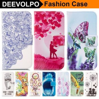 DEEVOLPO Phone Case For Samsung Galaxy S8 Plus S7 S6 Edge S5 J1 Mini A3 A5 2016 A7 2017 J310 J510 J710 Wallet Flip Cover D23Z image