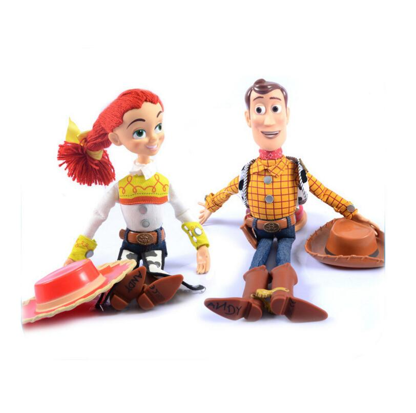 Image 5 - 2019  Toy Story 4 Talking Jessie Woody PVC Action Toy Figures Model Toys Children Birthday Gift Collectible Doll Free ShippingAction & Toy Figures   -