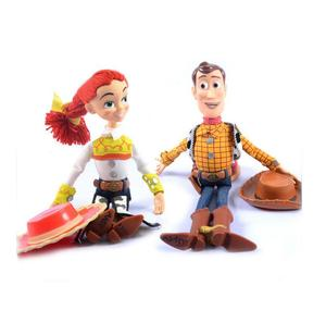 Image 5 - 2019  Toy Story 4 Talking Jessie Woody PVC Action Toy Figures Model Toys Children Birthday Gift Collectible Doll Free Shipping