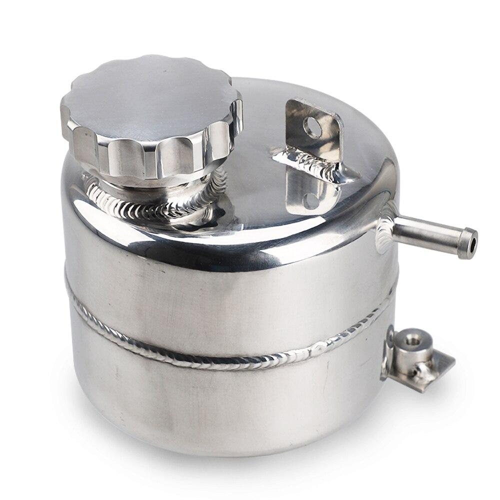 Para mini cooper s r52 r53 acessórios do carro refrigerante cabeçalho expansão transbordamento tanque de água & tampa reservatório alumínio pode yc101471