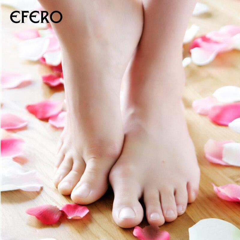 HOT Sale 1Pair Efero Exfoliating Foot Mask Exfoliating Foot Mask Skin Peeling Dead Remove For Pedicure Sock Foot Mask Spa TSLM1 5
