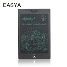 EASYA LCD Handwriting Writing Tablet 8.5 inch Electronic Digital Tablet Notepad Drawing Graphics Board with Stylus Pen for kids