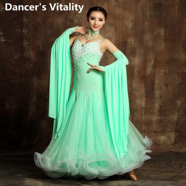 Moderne Kleding Dames.Latin Dance Dans Jurk Dames Cress Moderne Jurken Ballroom Dans