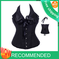 free  pp Corset Burlesque Basque walsonstyles Boned Lace Up Corsets Fancy Dress Costume