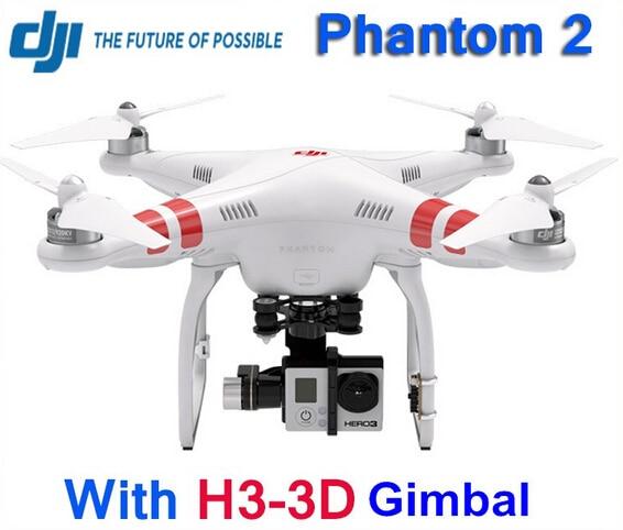 Original DJI Phantom 2 Quadcopter GPS Smart Drone with H3-3D Camera Gimbal RTF 2.4GHz
