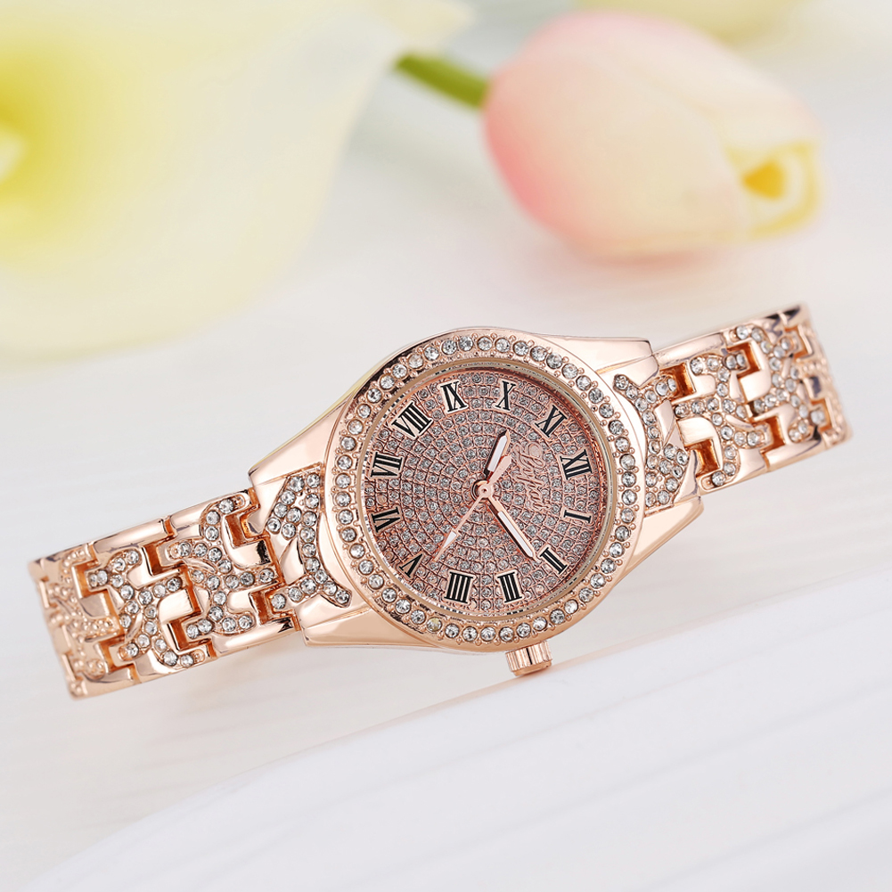 Fashion Quartz Watches Women Luxury Dress Fashion Wristwatch Crystal Gold Silver Ladies Bracelet Watch Clock relogio feminino купить
