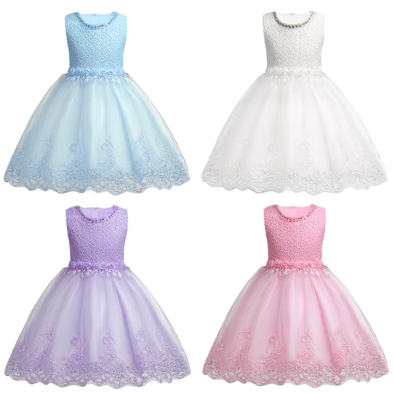 Toddler Girls Baby Girl Princess tutu Dress Flower Lace Princess Children Bridemaid Dress For Wedding Girls Party Prom Dresses 2016 spring winter baby flower girls lace wedding evening party tutu dresses children princess prom dress kids girl clothes