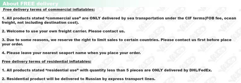 about free delivery-01 INFLATABLE