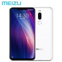 Новый MEIZU X8 Dual SIM 4 г LTE мобильный телефон Гб 64 Snapdragon710 OctaCore 6,15