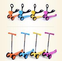 3 в 1 kick скутер костюм для детей от 1 до 10 лет регулирующая рукоятка детский скутер флэш колесные скутеры с безопасной Складной скутер