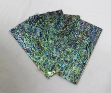 140*240mm 0.8mm thick top grade abalone shell paua shell laminate sheets shell paper furniture inlay guitar accessories