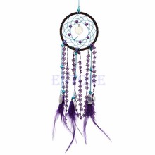 Dream Catcher NET With Plumage Car Wall Suspended Decoration Decor Craft Desk