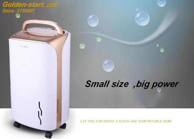 Nice High Power Electric Dehumidifier Air Purifier For Home 12L/D Air Dryer  Cleaner Smoke
