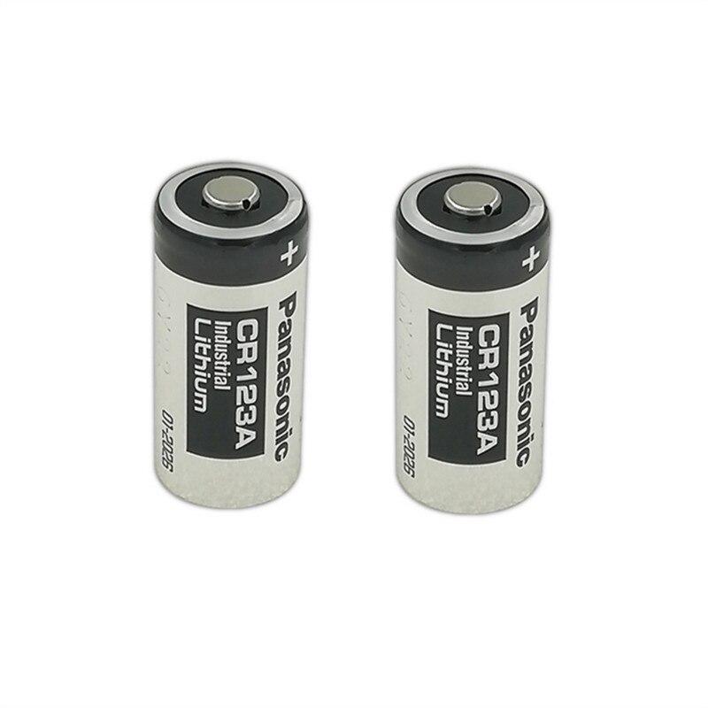 2 шт./лот Panasonic 123 литиевая батарея 3V Arlo CR123A CR17345 DL123A EL123A 123A