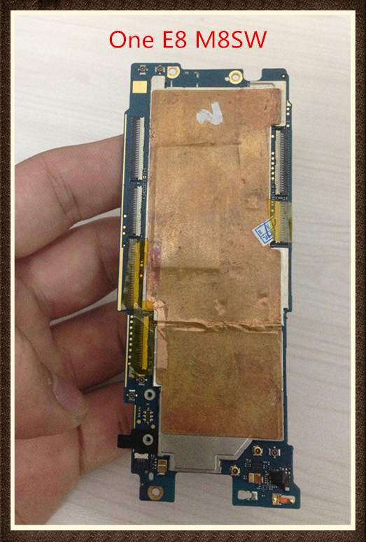100%Working~Original For HTC One E8 M8SW Mainboard Motherboard Logic Board With Chips free shipping original motherboard for desire 626 626w dual sim mainboard logic board free shipping