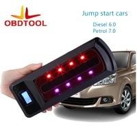 ObdTooL 12V Multi Function Emergency Car Jump Starter Power Bank Compass SOS Light Car Charger LED Light High Capacity 22000mah