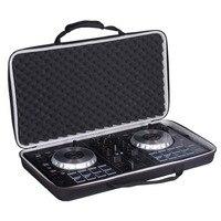 LTGEM Case for Pioneer DJ DDJ SB3 / DDJ SB2 / DDJ 400 or Portable 2 channel Controller or DDJ RB Performance DJ Controller Black
