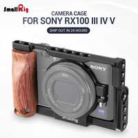 SmallRig RX100 Camera Cage Kit for Sony RX100 III IV V Camera Stabilizer for RX100 M3 M4 M5 M5A for velogging 2105