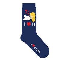 Носки Бультерьера, подарок ко Дню Святого Валентина, подарок на день матери, женские носки с собакой, 10 пар/партия