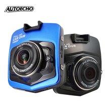 """2 Colores Cámara Auto Del Coche DVR Full HD 1080 P 2.4 """"GT300 Videocámara del Registrador de Vídeo Grabador Dash Cam g-sensor de Visión Nocturna de Estacionamiento"""