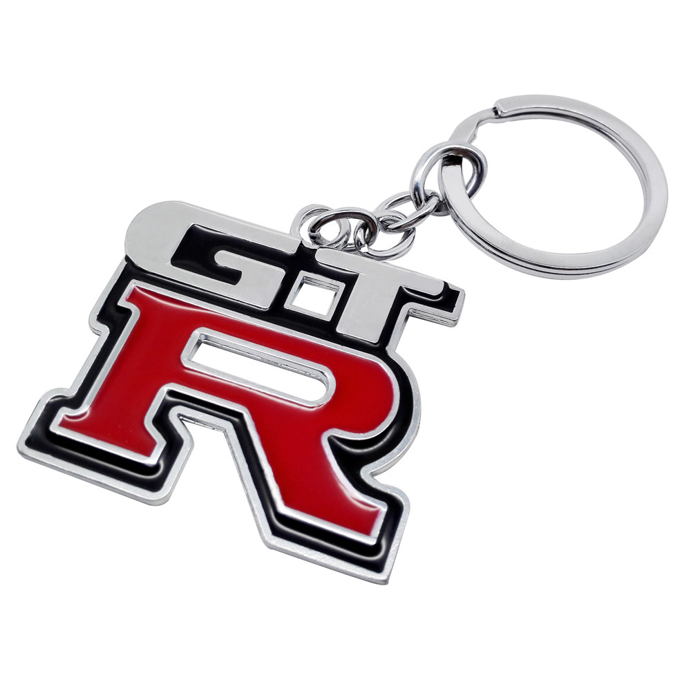 Metal Car Logo key ring keyring <font><b>keychain</b></font> key chain for nissan GTR <font><b>350z</b></font> nv200 versa np300 x-trail juke Nismo qashqai Car Styling image