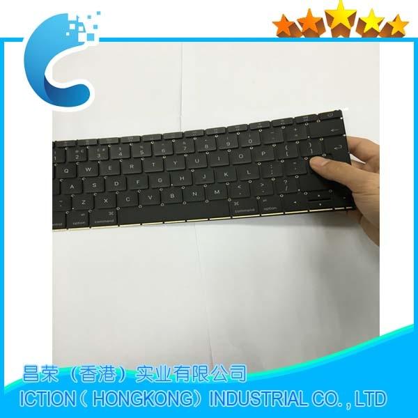 98% NEW Original Laptop Keyboard UK  version For Macbook A1534 UK  Keyboard Replacement 2015 original 98