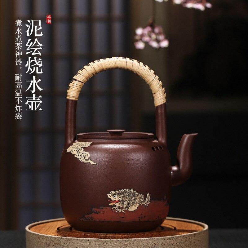Песочный чайник электрический таолу кастрюля для приготовления пищи spittor рекомендуется все руки известная балка с цветным рисунком или рис