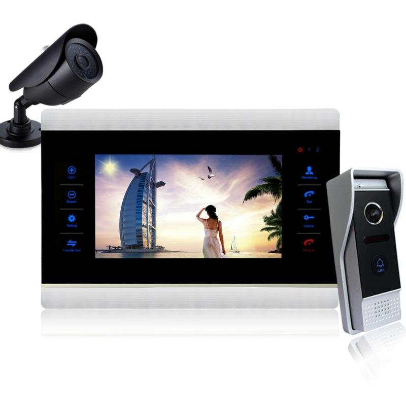 Homefong 10 TFT ЖК-дисплей видео домофон дверной звонок Системы просмотра ИК Ночное видение Камера видео Звонок домой ...