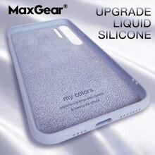 Telefon Fall Für Huawei Mate 20 10 9 P10 P20 P30 Pro P40 Lite Flüssigkeit Silikon Original Luxus Abdeckung Für huawei Nova 5T 3 P 40 Fall