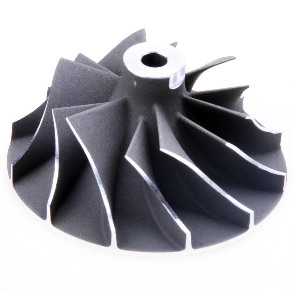 4+4 38.1//50.96 Kinugawa Billet Turbo Compressor Wheel KKK K03-052//053 VW Bora 1.8T