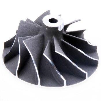 Kinugawa Turbo Kompresör Tekerlek 35.97/49.96mm 6 + 6 Borgwarner K03-029 53039880029 Audi için A4 1.8 T (B5)