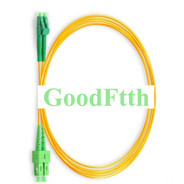 Fiber Patch Cord SC LC APC SC/APC LC/APC SM Duplex GoodFtth 100 500m
