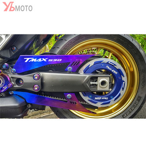 Аксессуары для мотоциклов с ЧПУ Защитная крышка для ремня цепи для YAMAHA TMAX530 TMAX 530 SX DX T-MAX 2017-2018 2019