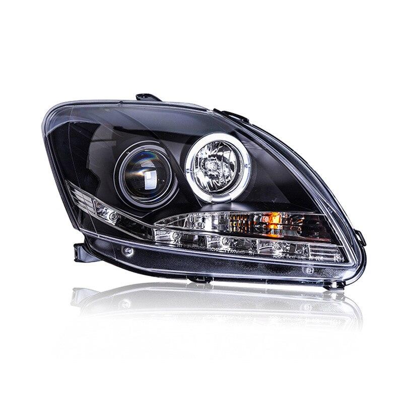 Ownsun Ownsun LED Eagle Eye DRLs HID Bi-Xenon Projector Len Headlight For Toyota Vios 2008-2013