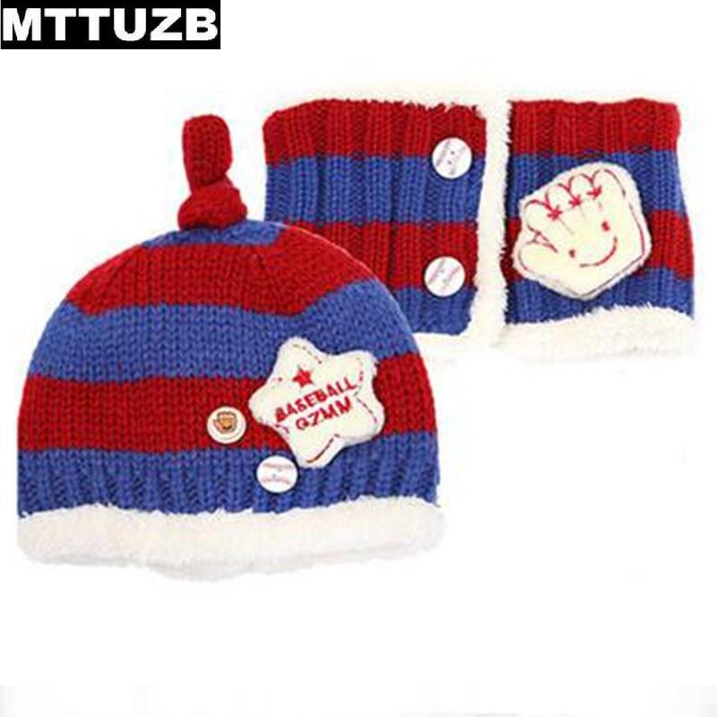 MTTUZB Super macia e quente chapéu lenços outono inverno das crianças chapéu  cachecol terno criança definir meninos meninas cap criança acessórios 8dbf43e6ddd
