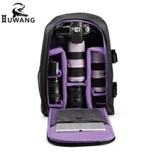 Buy Upgrade Professional Digital DSLR Camera Soft Bag Multi-functional Photo Padded Backpack with Rain Cover Laotop 15.6″ Video Case