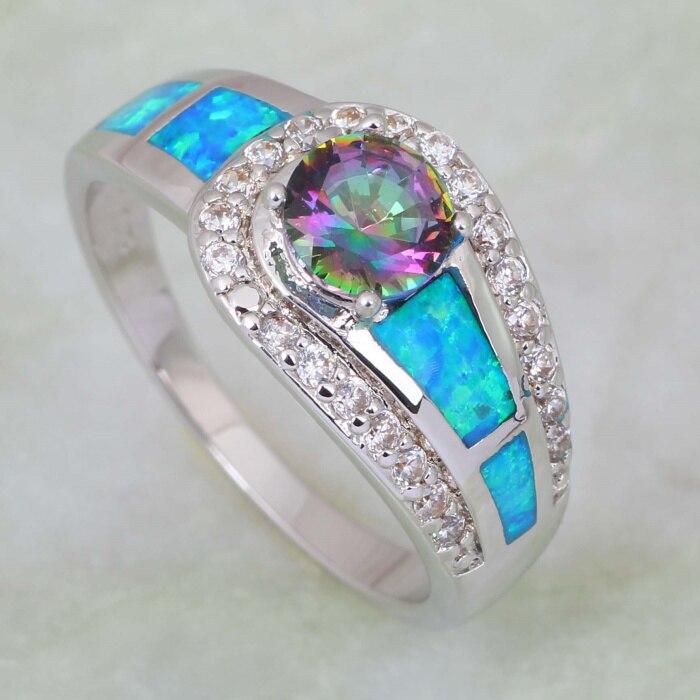 Mode smycken Pink Rainbow Mystic Cubic Zirconia 925 Sterling Silver - Märkessmycken - Foto 2