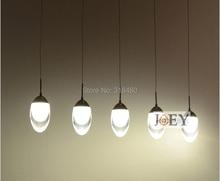 15 W LED Modern Luxury Lustres luzes Luminárias 5 Arcrylic lâmpada sombra uso balcão de Bar luz da cozinha iluminação da sala de jantar 9098