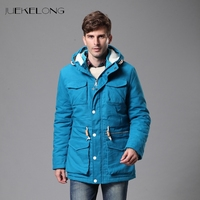 2017Men S Jackets Winter Cotton Coats Men Outerwear Army Solid Casual Brand Male Clothing Winter Warm