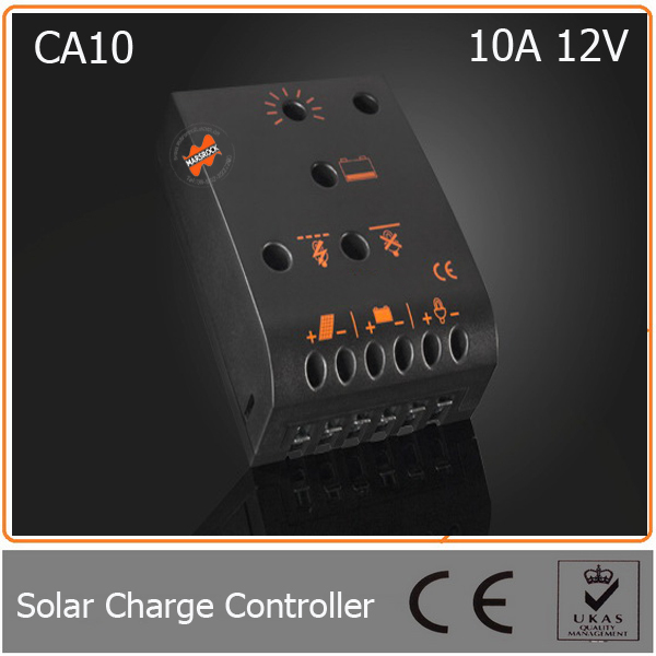 ФОТО 10A 12V Solar Controller with LED Display & Integrated Temperature Compensation Suitable for Small off-grid PV System