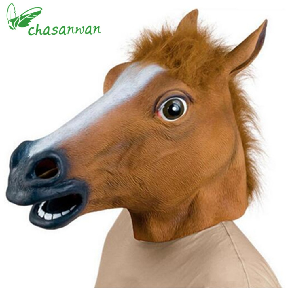 Scary Mask Horse Promotion-Shop for Promotional Scary Mask Horse ...
