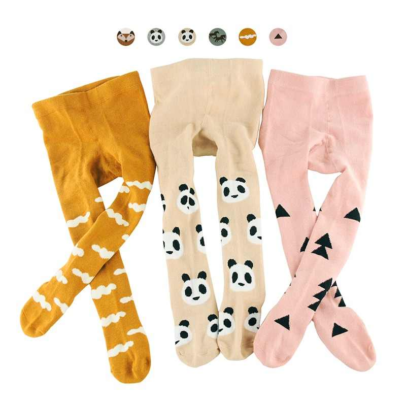 818d0cfb5ca542 Cute Animal&Geometric Kids Girls Tights Pantyhose Stocking Cotton Children  Baby Boy Tights Stockings Toddler Pantyhose For
