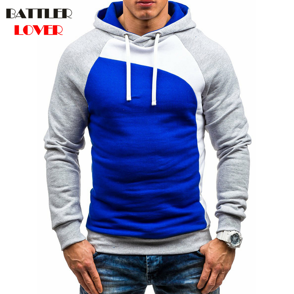 Hoodies & Sweatshirts Brand 2018 Hoodie Stitching Leopard Hoodies Men Fashion Tracksuit Male Sweatshirt Hoody Mens Purpose Tour Durable Modeling