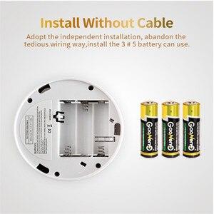 Image 5 - 2 in 1 LED Digital Gas Smoke Sensor Alarm Co Carbon Monoxide Detector Voice Warn Sensor Home Security Protection High Sensitive