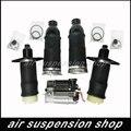 Для Audi A6 C5 Allroad Quattro пневматическая подвеска резиновые Пружинные сумки и компрессор 4Z7616007 4Z7616051D 4Z7616051A