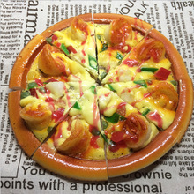 Simulation Model Pizza Food Handicraft Artificial Props Western-style Bakery Window Decorations Kindergarten Ornaments Display